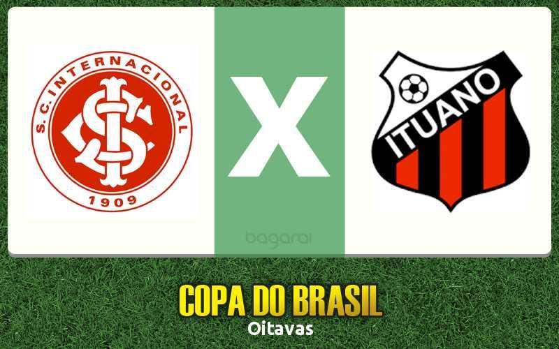 Copa do Brasil 2015: Internacional vence Ituano por 2 a 0