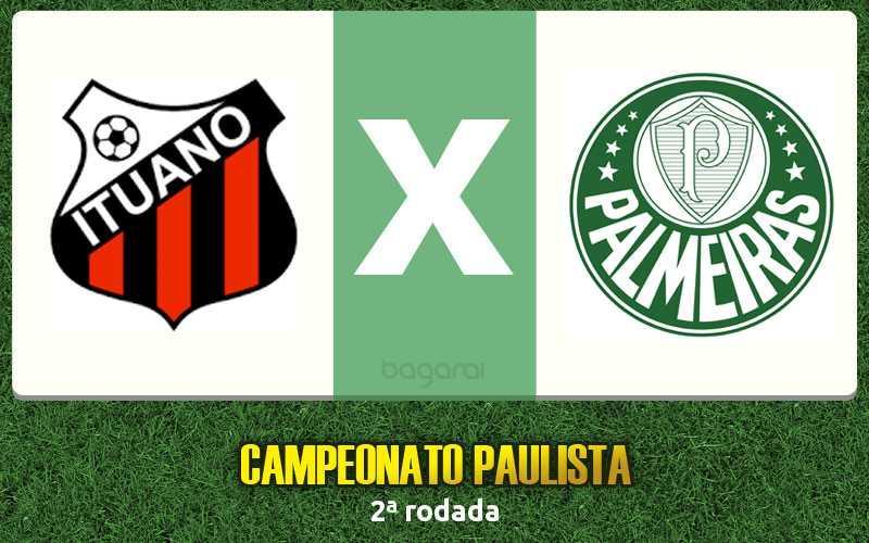 Ituano ganha do Palmeiras pelo Campeonato Paulista 2017