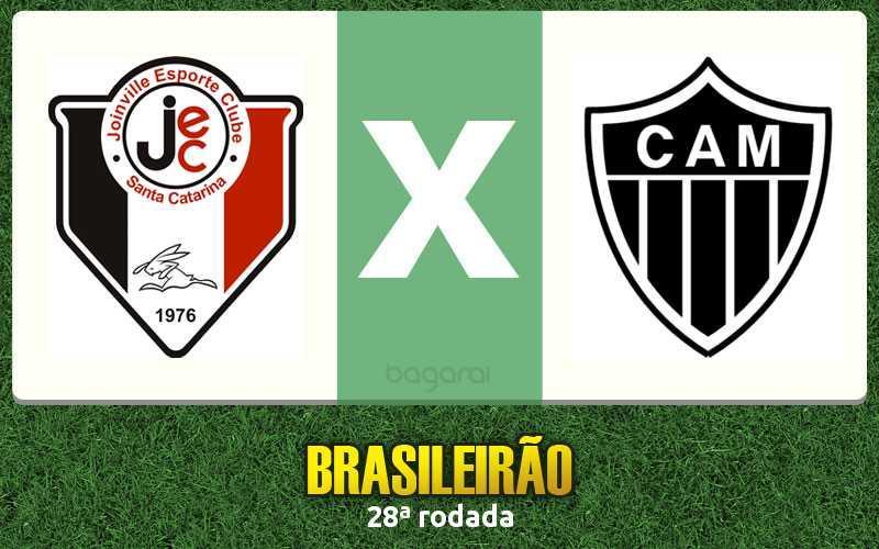 Resultado do jogo: Joinville e Atlético Mineiro empatam pelo Brasileirão 2015