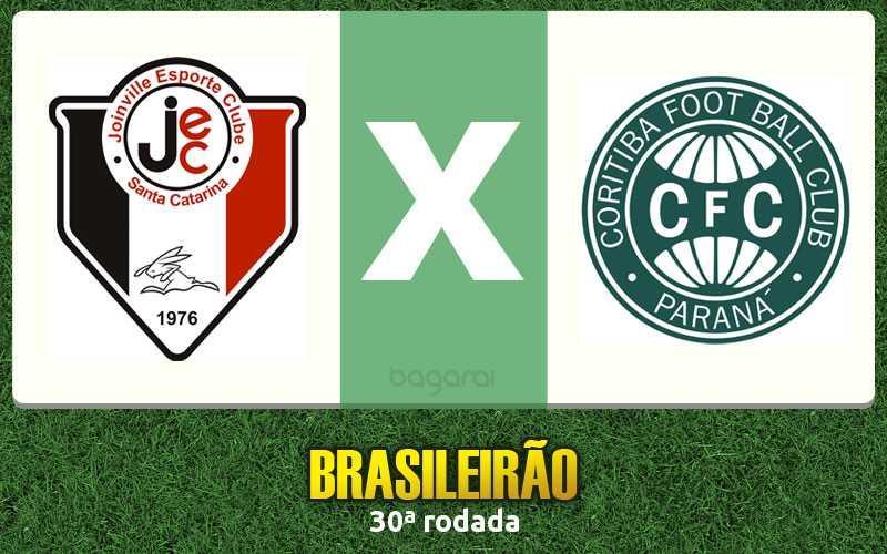 Resultado do jogo de hoje: Joinville ganha do Coritiba pelo Brasileirão 2015