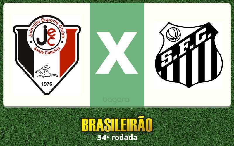 Resultado do jogo: Joinville e Santos FC empatam pelo Brasileirão 2015