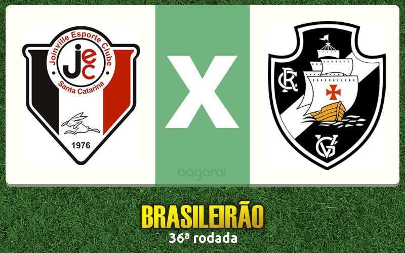 Vasco da Gama vence Joinville pela 36ª rodada do Campeonato Brasileiro 2015