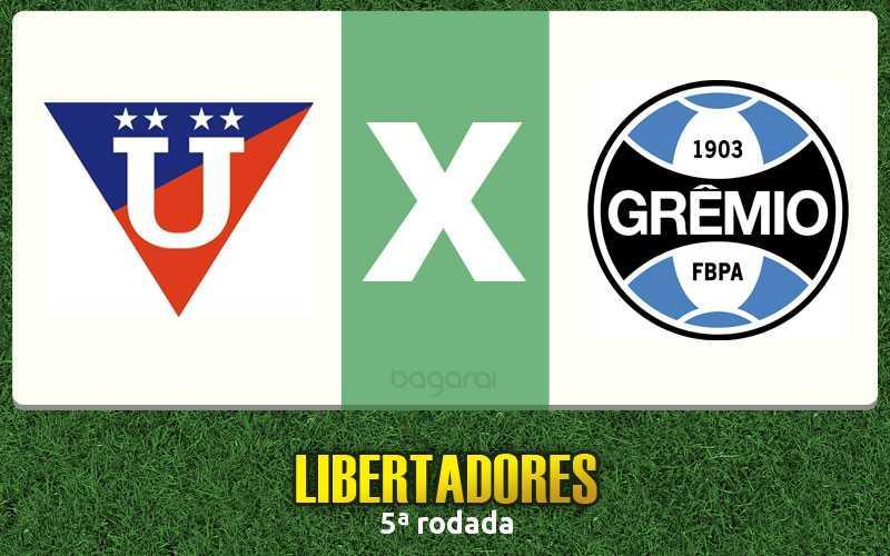 Grêmio vence LDU e segue na Libertadores 2016
