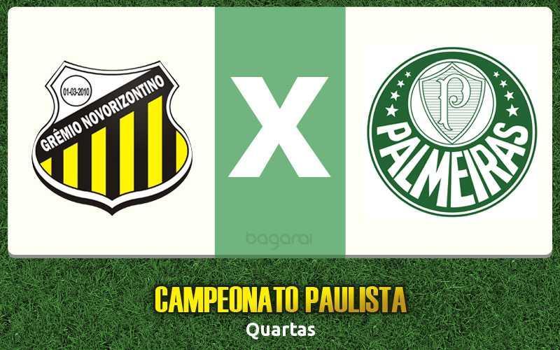 De virada: Palmeiras ganha do Novorizontino pelo Campeonato Paulista 2017