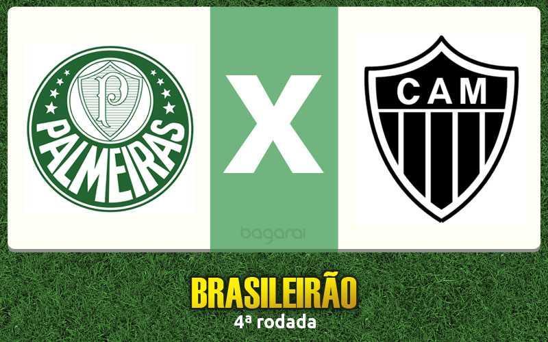 Campeonato Brasileiro 2017: Palmeiras e Atlético Mineiro ficam no empate pela 4ª rodada