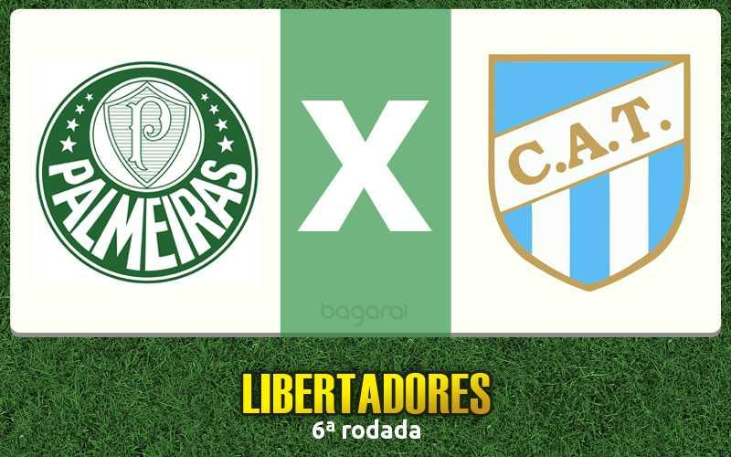 Libertadores 2017: Palmeiras vence Atlético Tucumán por 3 a 1