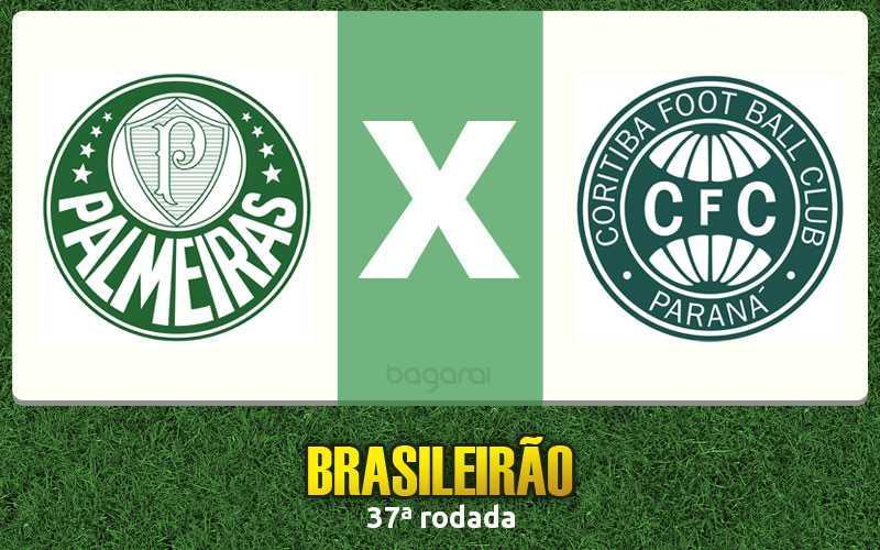 Coritiba vence Palmeiras pela 37ª rodada do Brasileirão 2015