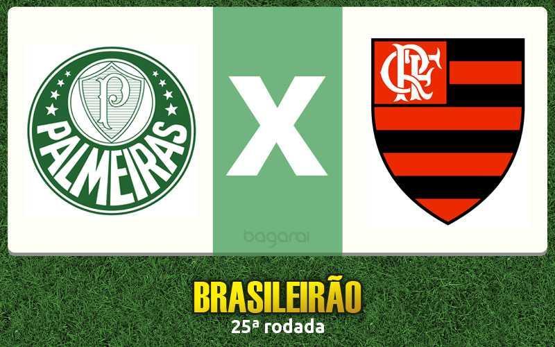 Palmeiras e Flamengo empatam na 25ª rodada do Brasileirão 2016, Resultado do jogo