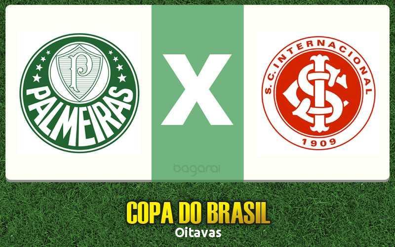 Copa do Brasil 2017: Palmeiras vence Internacional por 1 a 0