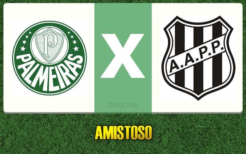 Palmeiras e Ponte Preta empatam em 1 a 1 em Amistoso 2017