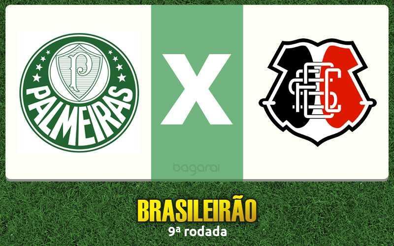 Palmeiras vence Santa Cruz pelo Campeonato Brasileiro 2016