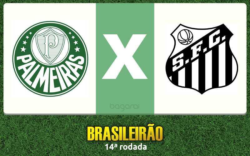 Brasileirão 2016: Palmeiras e Santos empatam na 14ª rodada