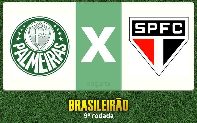 Palmeiras goleia São Paulo FC no Campeonato Brasileiro 2015, resultado do jogo