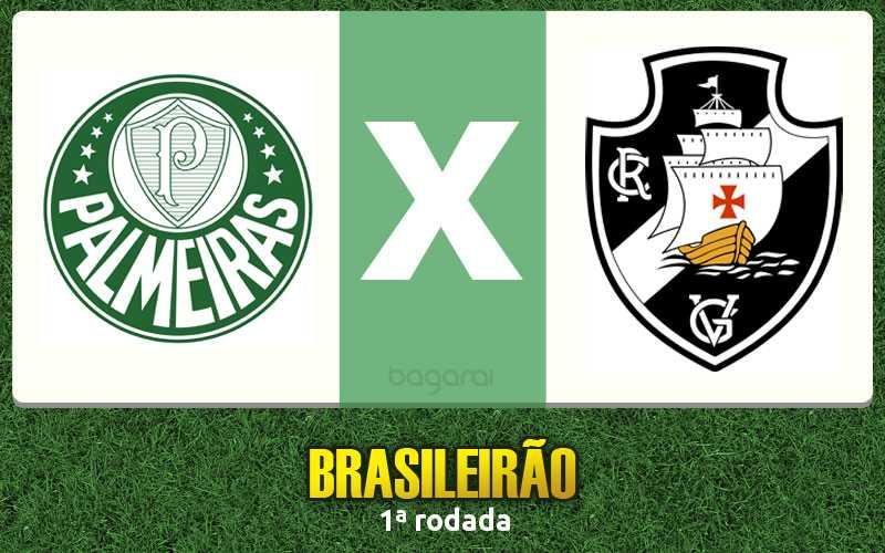 Palmeiras goleia Vasco pela 1ª rodada do Campeonato Brasileiro 2017