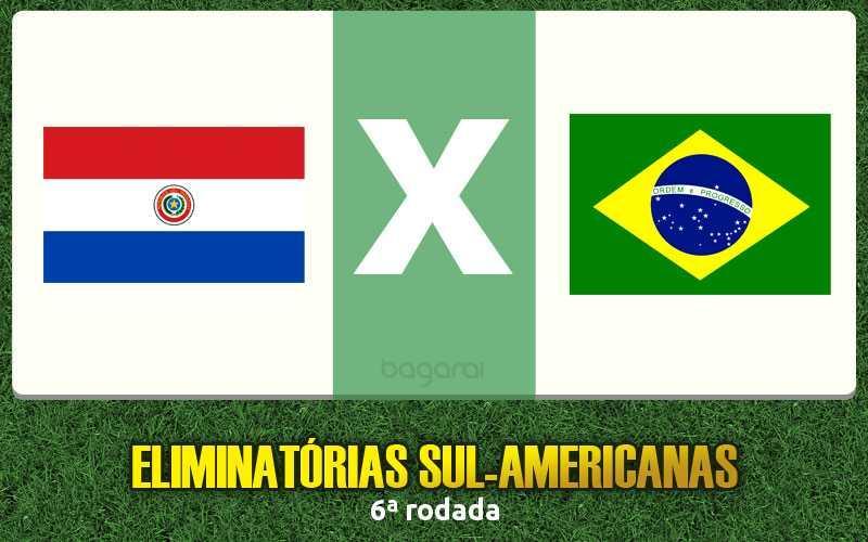 Resultado do jogo: Brasil e Paraguai ficam no empate pelas Eliminatórias 2016