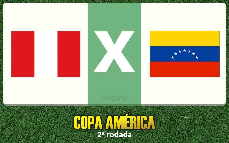 Resultado do jogo: Peru vence Venezuela pela Copa América 2015