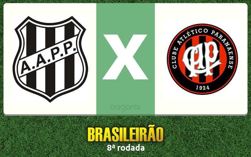 Ponte Preta faz 3 a 2 no Atlético Paranaense pelo Brasileirão 2016