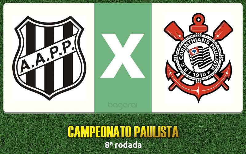 Campeonato Paulista 2017: Ponte Preta e Corinthians empatam em 1 a 1 pela 8ª rodada