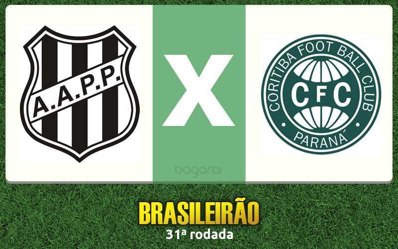 Ponte Preta vence Coritiba pelo Brasileirão 2015