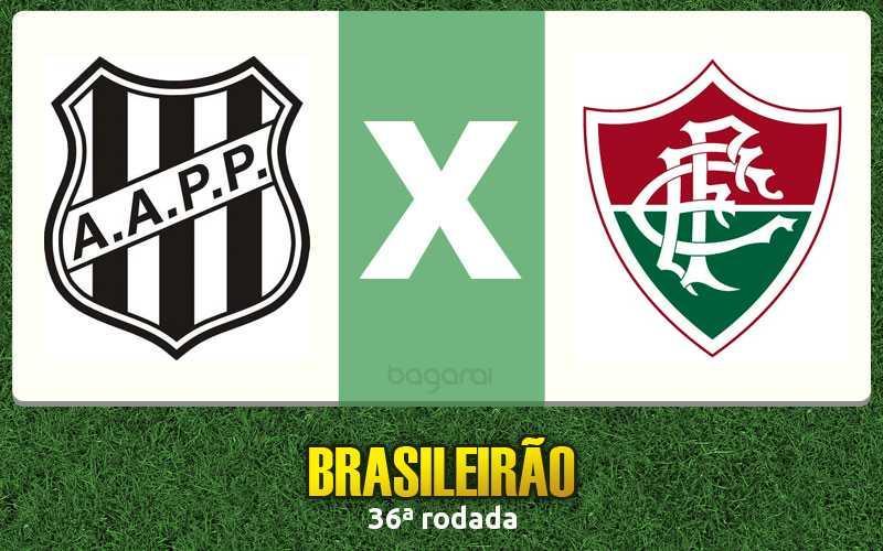 Ponte Preta vence Fluminense pelo Brasileirão 2016 na 36ª rodada
