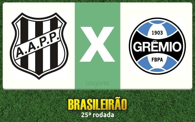 Brasileirão 2016: Ponte Preta faz 3 no Grêmio pela 25ª rodada