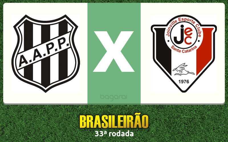 Brasileirão 2015: Ponte Preta vence Joinville por 1 a 0