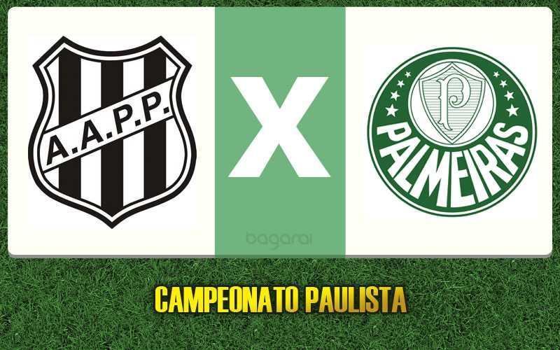 Ponte Preta dá chocolate de 3 no Palmeiras, Resultado do jogo pelo Campeonato Paulista 2017