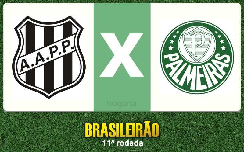Palmeiras joga bem e ganha da Ponte Preta pelo Brasileirão 2015