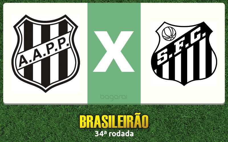 Brasileirão 2016: Santos vence Ponte Preta pela 34ª rodada