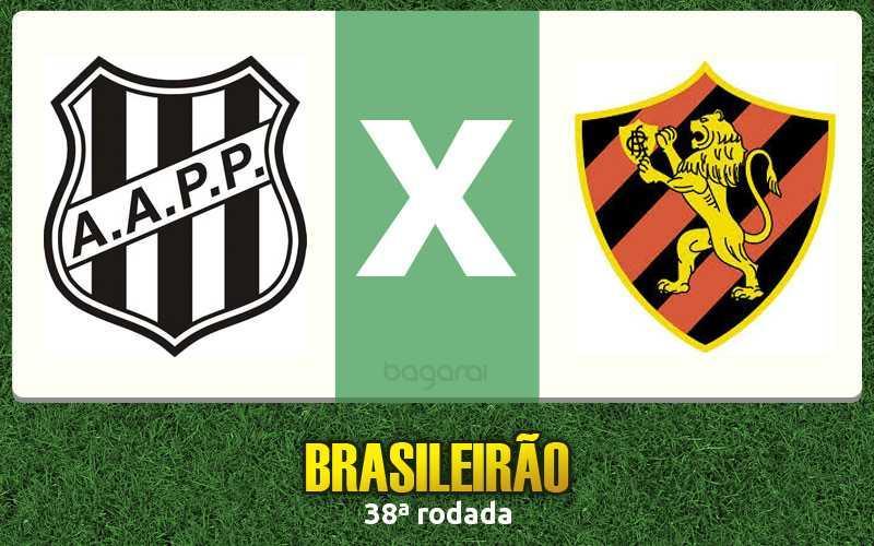 Sport vence Ponte Preta pelo Brasileirão 2015, Resultado do jogo