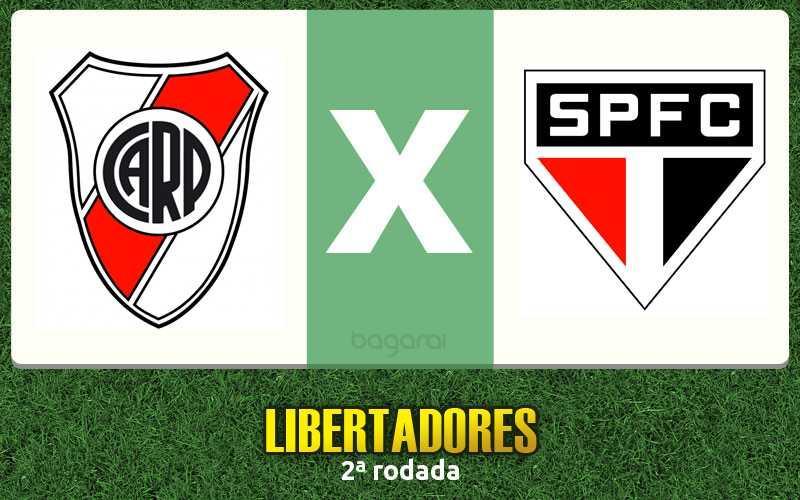 River Plate e São Paulo ficam no 1 a1