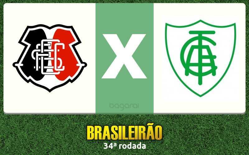 Santa Cruz ganha do América-MG pelo Campeonato Brasileiro 2016
