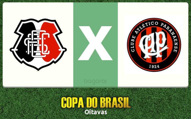 Santa Cruz e Atlético-PR empatam pelo Copa do Brasil 2017