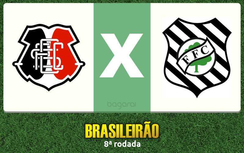 Santa Cruz vence Figueirense pelo Brasileirão 2016