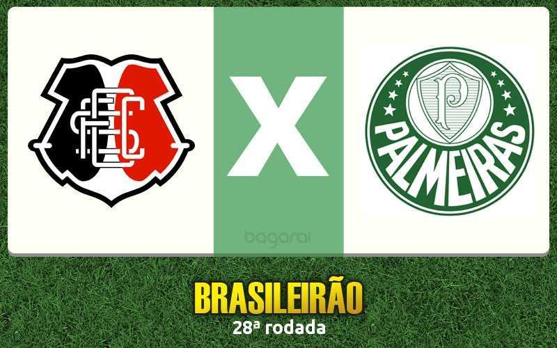 Palmeiras vence Santa Cruz pelo Brasileirão 2016