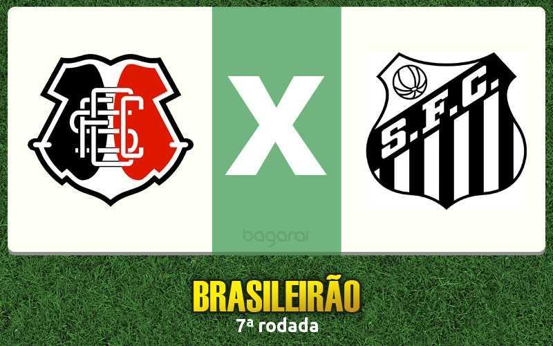 Santos faz 2 no Santa Cruz pelo Brasileirão 2016