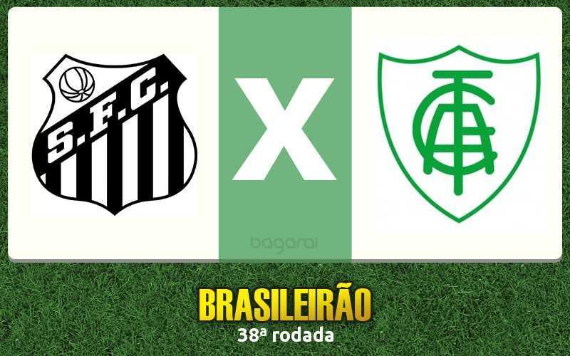 Brasileirão 2016: Santos vence América-MG por 1 a 0