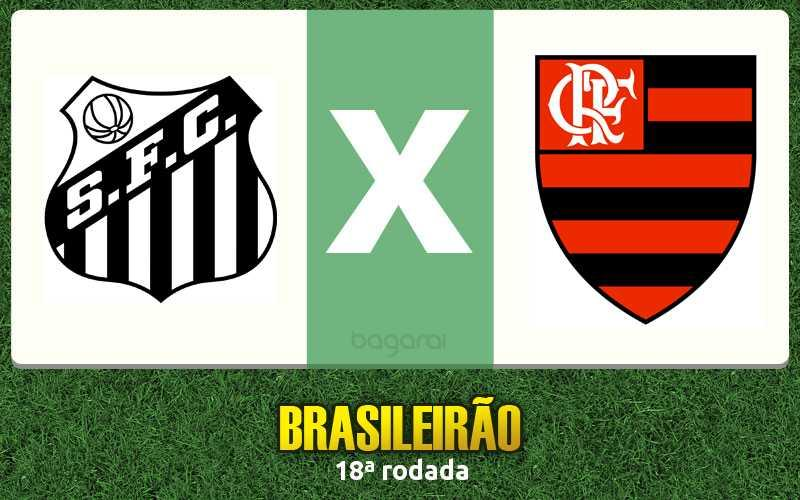 Santos e Flamengo ficam no 0 a 0 pelo Brasileirão 2016