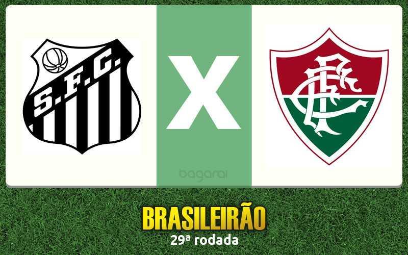 Santos FC fez 3 a 1 no Fluminense pelo Brasileirão 2015