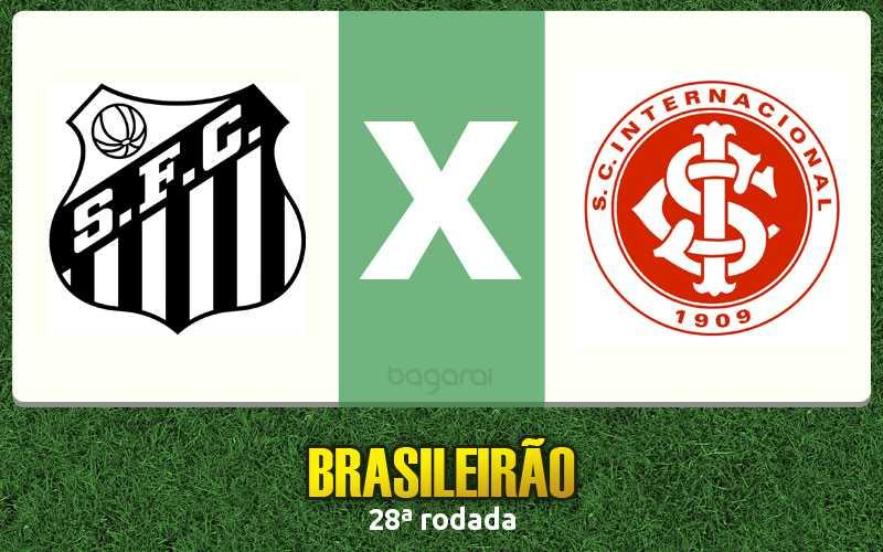 Brasileirão 2015: Santos venceu o Inter por 3 a 1 na Vila Belmiro