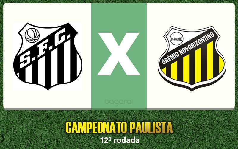 Campeonato Paulista 2017: Santos vence Novorizontino de virada