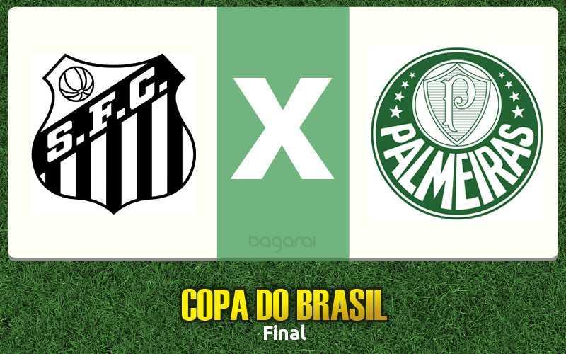 Resultado do jogo: Jogo de ida pela Copa do Brasil 2015 termina com vitória do Santos FC em cima do Palmeiras