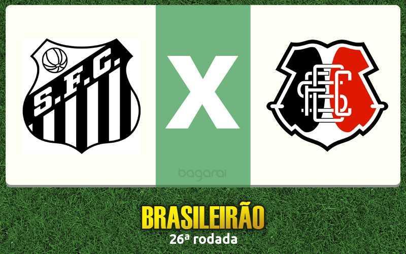 Brasileirão 2016: Santos vence Santa Cruz por 3 a 2