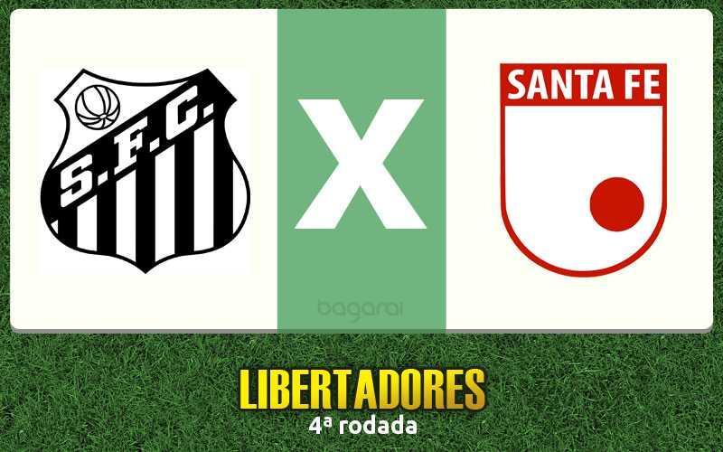 Santos FC vence Santa Fe pela Libertadores 2017