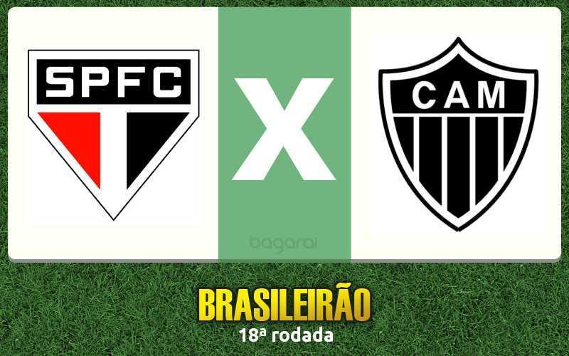 Brasileirão 2016: Atlético Mineiro ganha do São Paulo FC na 18ª rodada, Resultado do jogo de hoje