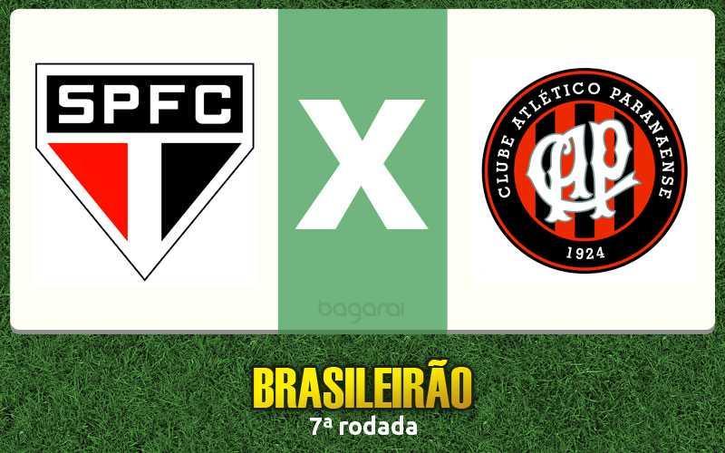 Atlético Paranaense vence São Paulo FC na 7ª rodada do Brasileirão 2016