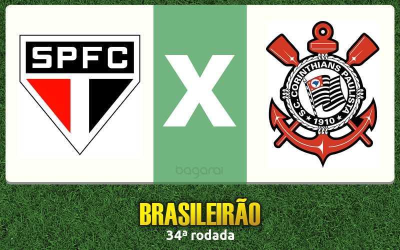 Brasileirão 2016: São Paulo FC goleia Corinthians na 34ª rodada