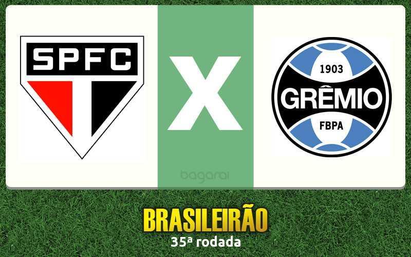 São Paulo FC e Grêmio empatam em 1 a 1 pelo Brasileirão 2016