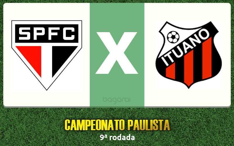 Campeonato Paulista 2017: assistir São Paulo FC e Ituano, acompanhe futebol online