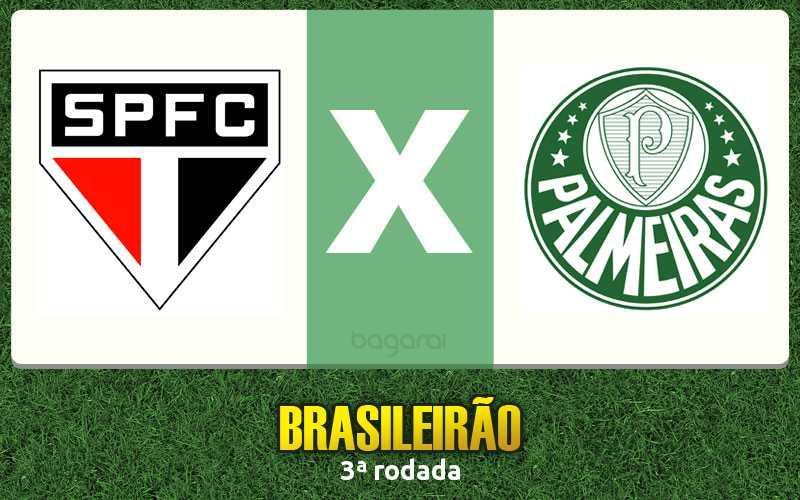 Campeonato Brasileiro 2017: São Paulo FC ganha do Palmeiras, Resultado do jogo de hoje